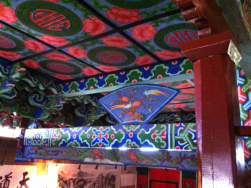 Decorative paintings in Wangu Lou