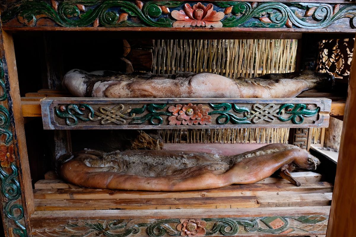 Mosuo preserved pork